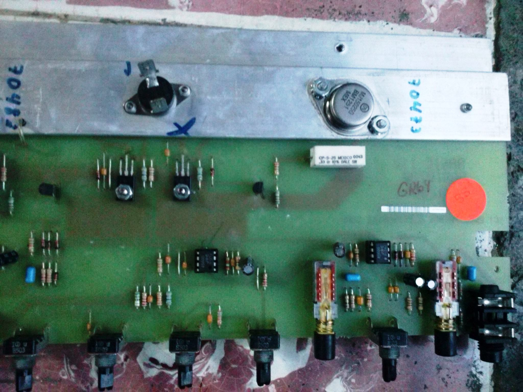 Peavey Basic 112 Schematic Pictures to Pin on Pinterest - ThePinsta