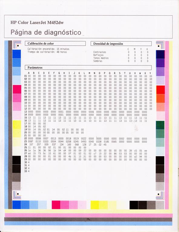 Solucionado: IMPRESORA M452dw colores defasados - Reparación de ...