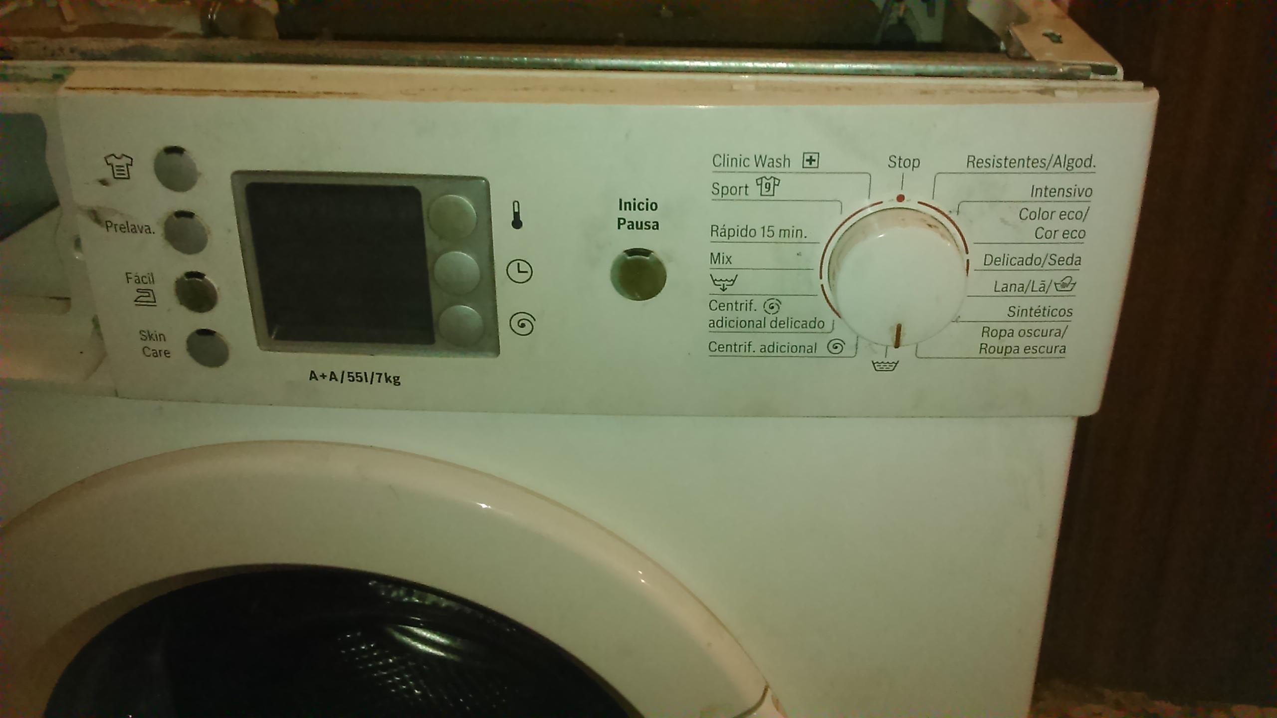 solucionado lavadora bosch fd 8707 bloqueada tras error f21 yoreparo. Black Bedroom Furniture Sets. Home Design Ideas