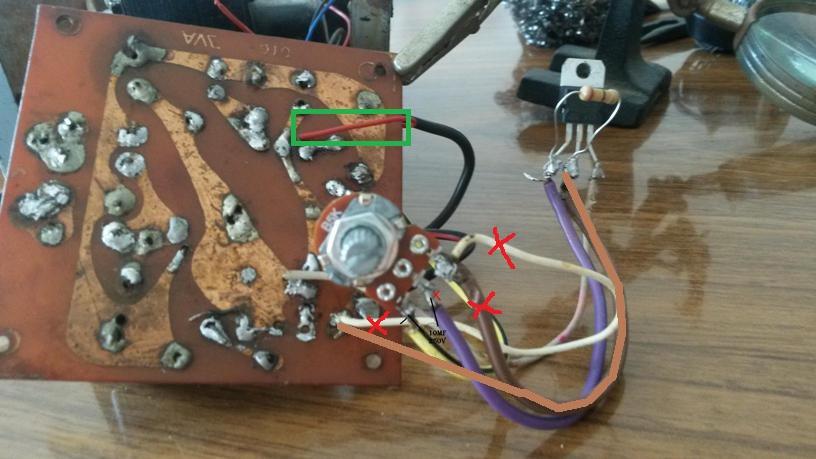 Solucionado: fuente variable se cae el voltaje - Electrónica y ...