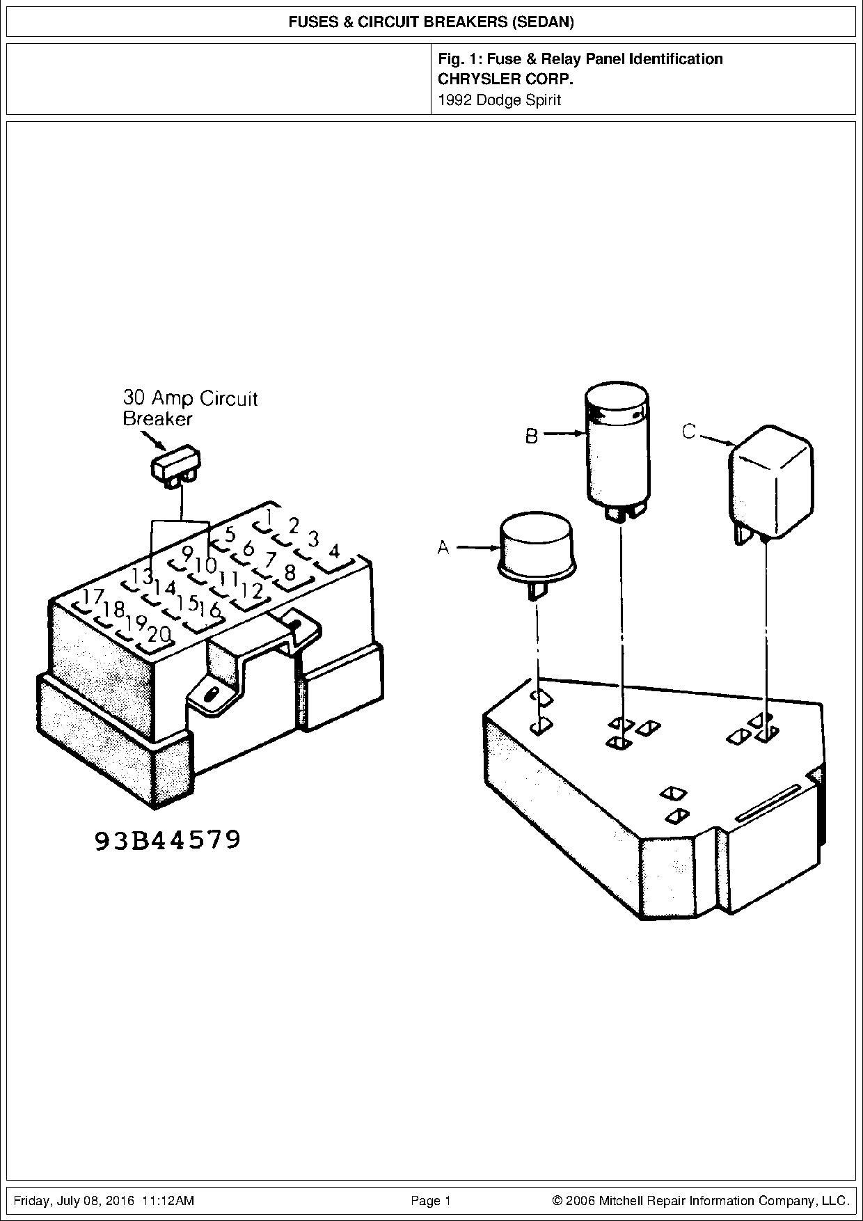 solucionado  diagrama de fusibles spirit 92
