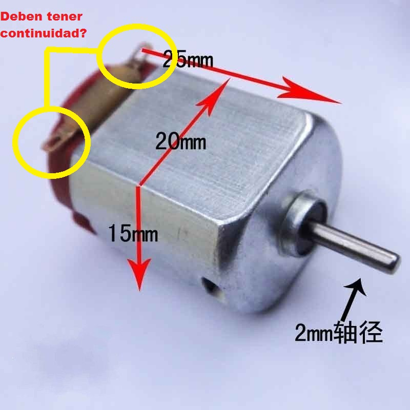 Solucionado Motor De Juguete Verificar Si Esta Danado Juguetes