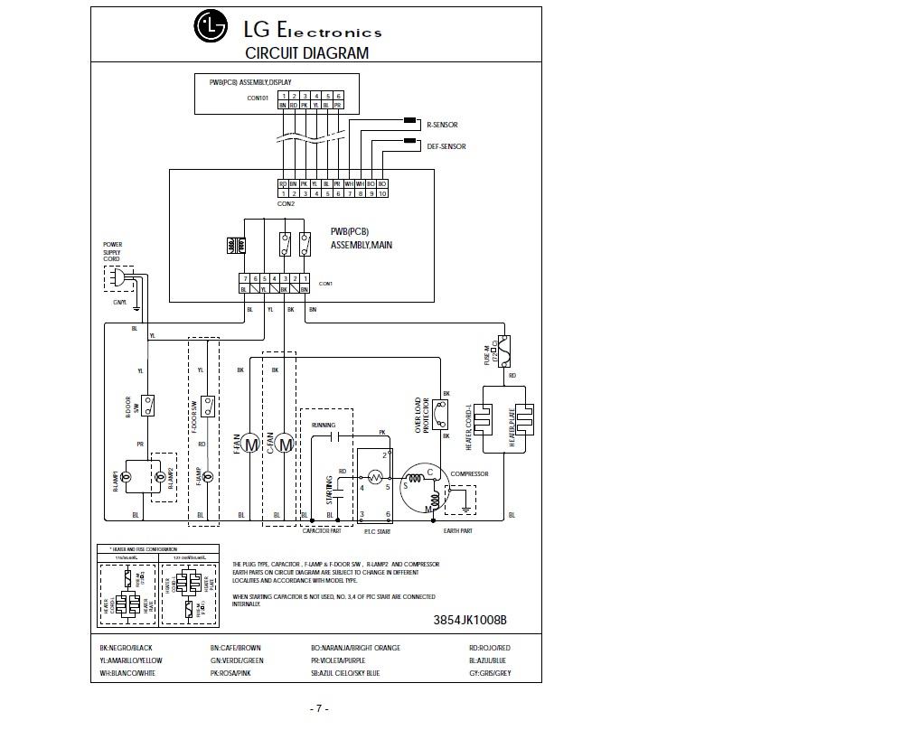 solucionado  refrigerador lg 30w12cpc
