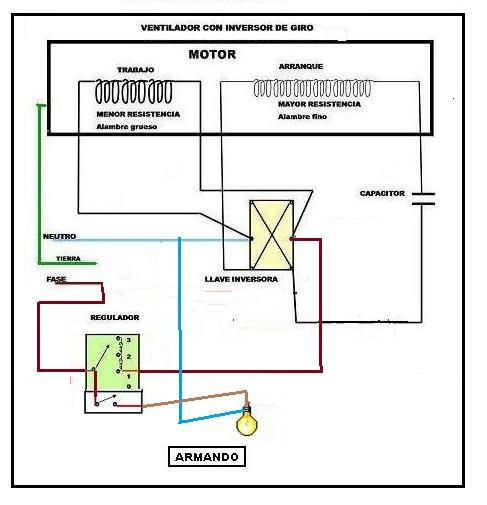 Schemi Elettrici Effetti Chitarra : Circuito electrico ventilador de techo con capacitor