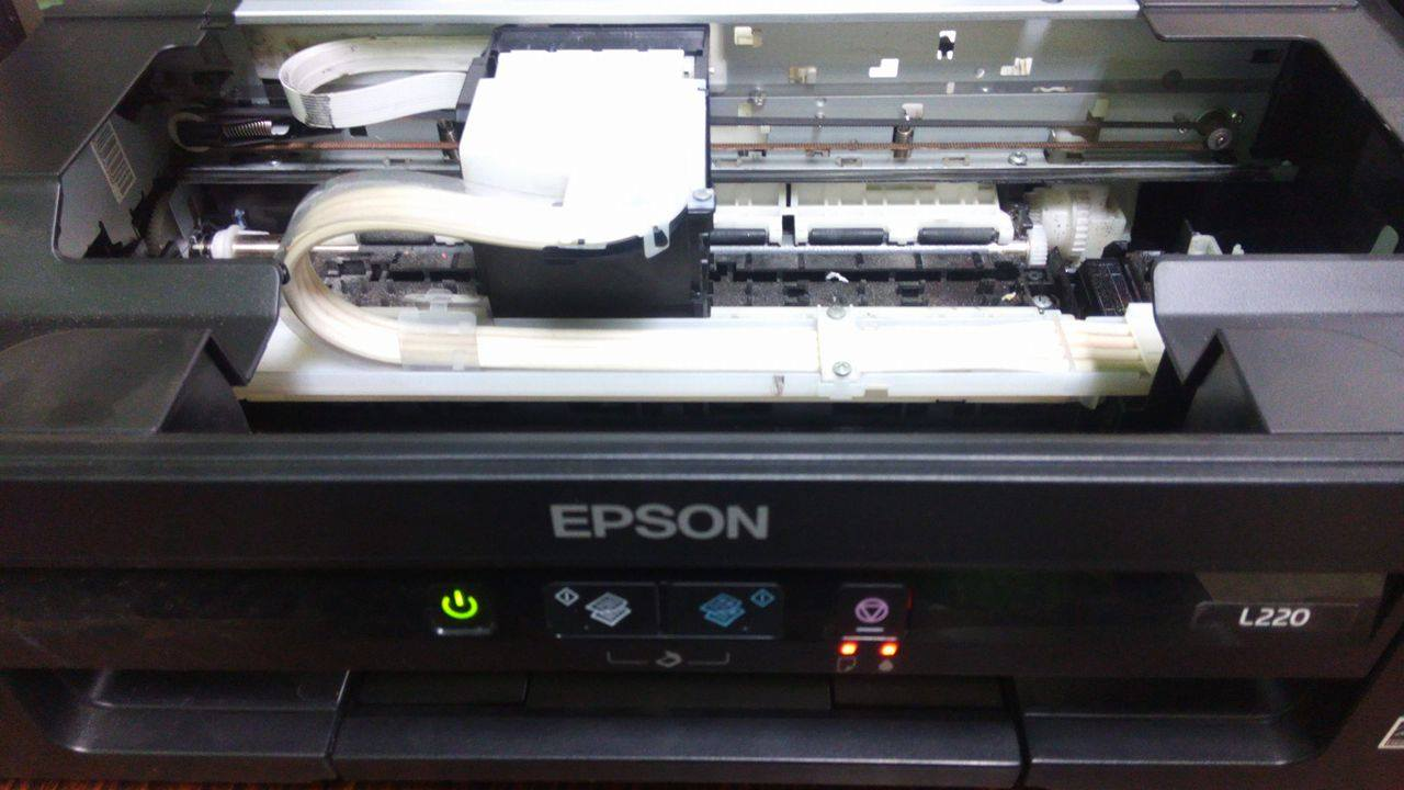 Error De Escaner En Mi Epson L220 Yoreparo