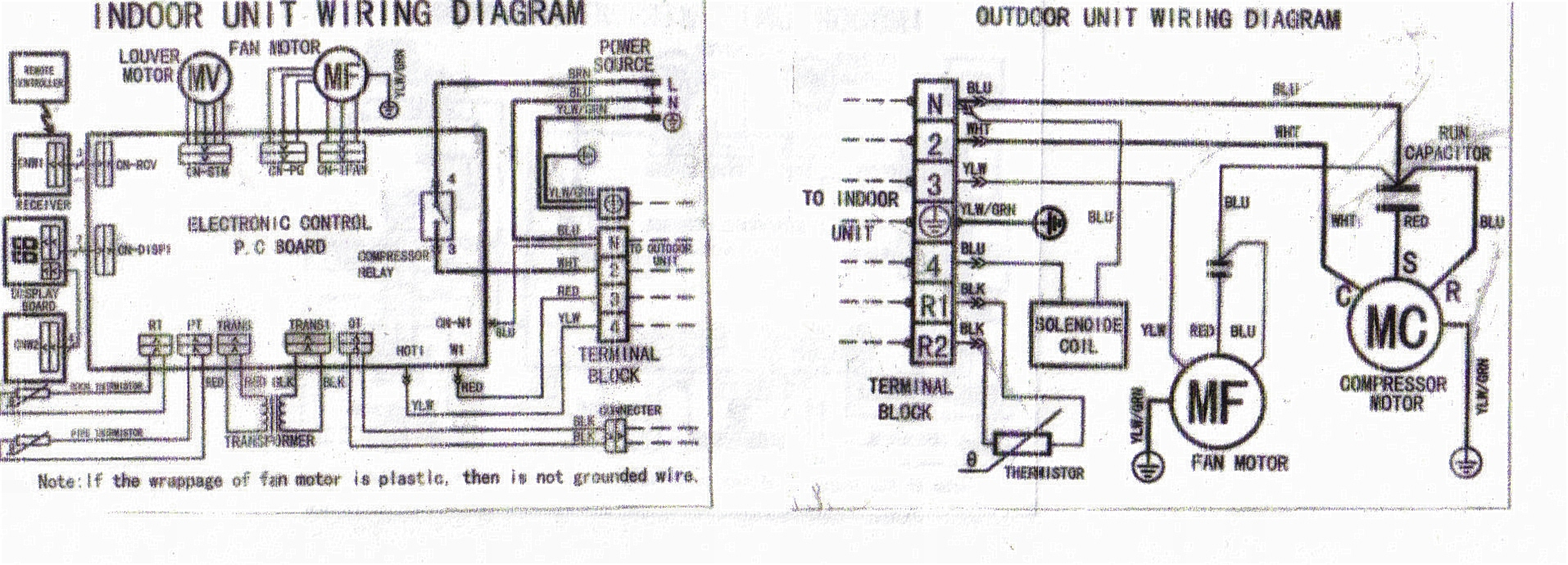 Solucionado Diagrama electrico de targeta de split