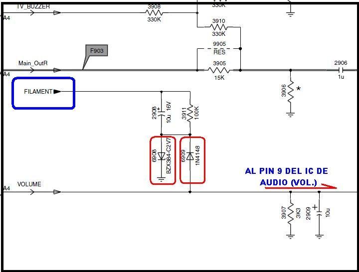 Solucionado  Tv Philips 21pt5425  77 Sin Sonido Y Prob U00e9