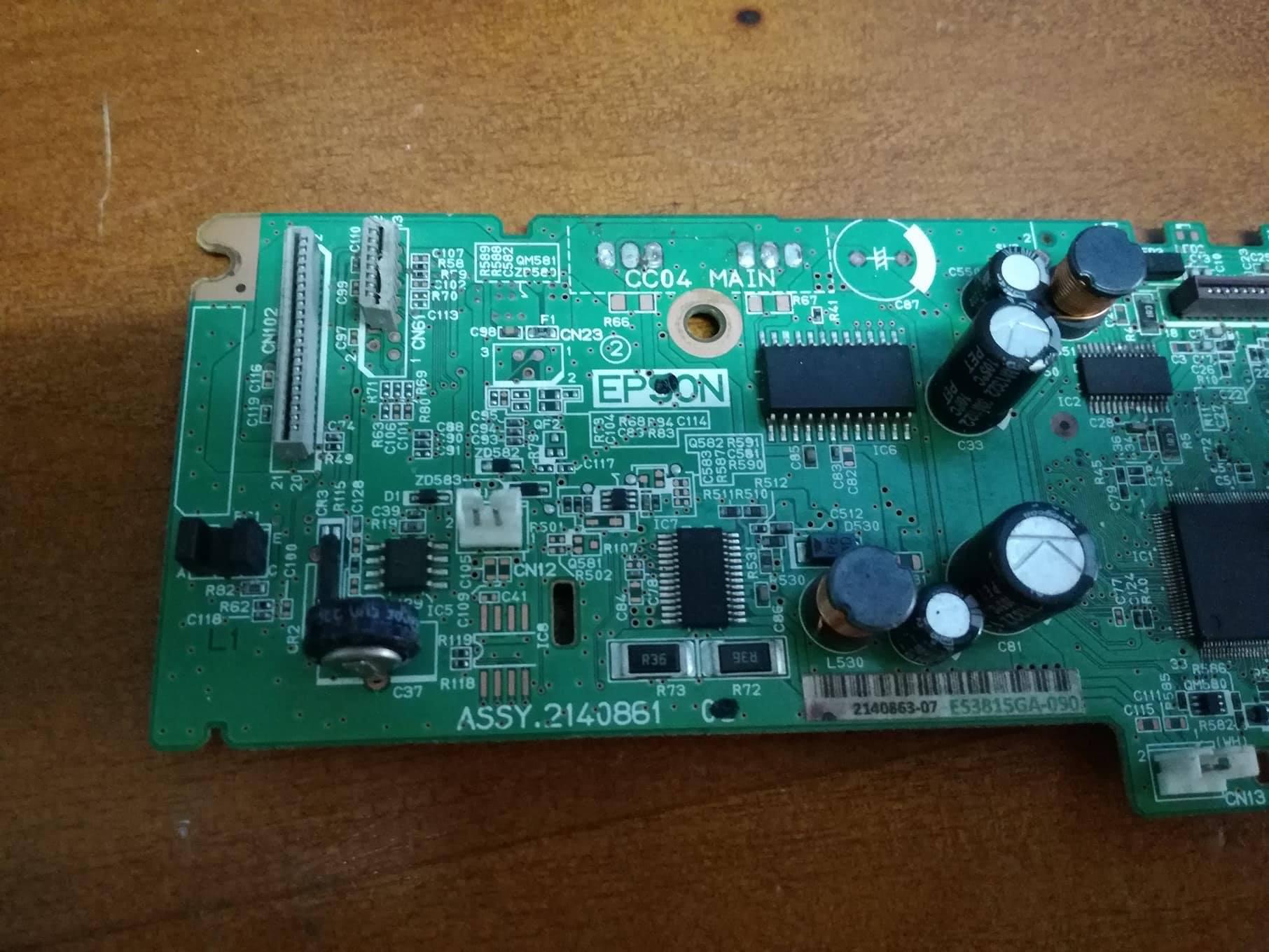 Epson L210 Cuando Va A Imprimir Pasa El Papel De Largo