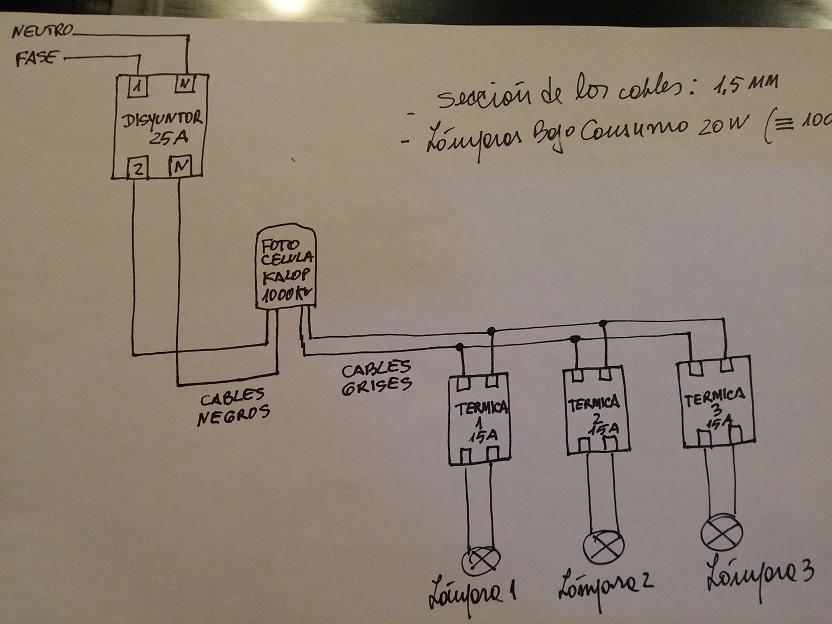 Como colocar una lampara como poner una l mpara de techo - Como conectar un sensor de movimiento de tres cables ...