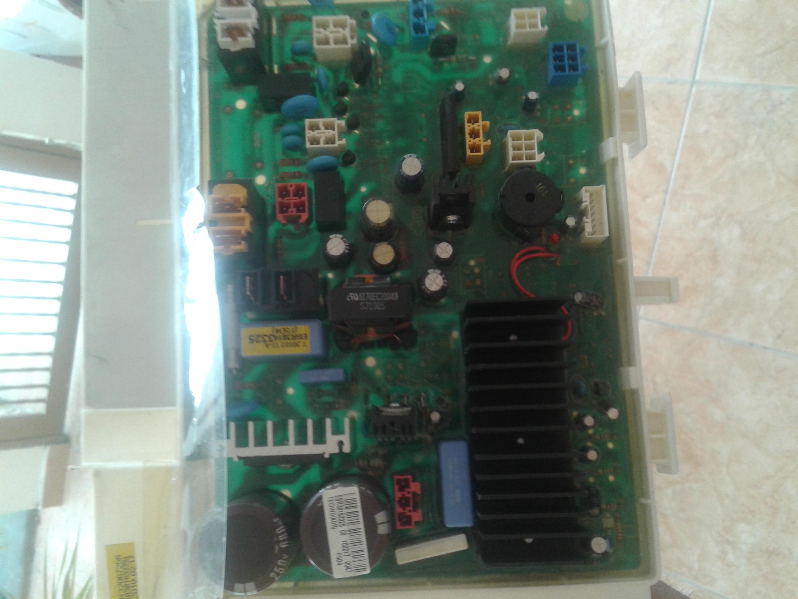 Solucionado lavadora lg wd 12590rd no enciende yoreparo - Opinion lavadoras lg ...