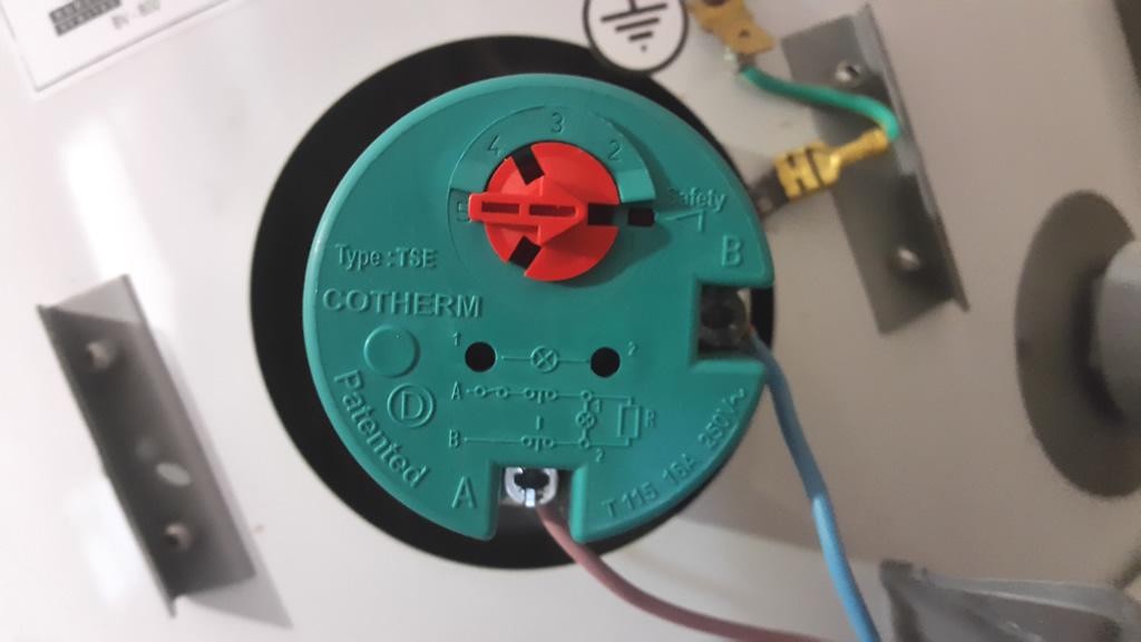 Termotanque el ctrico hace salta el disyuntor a n apagado - Como instalar termo electrico ...