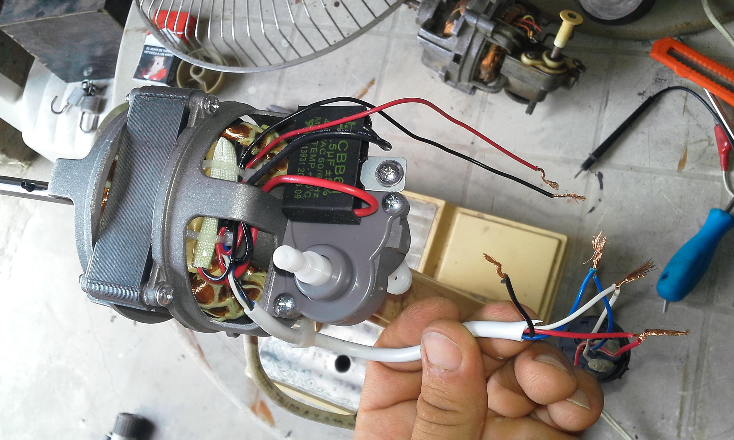 Pin yoreparo ventilador de techo instalar ventiladores on - Motores de ventiladores de techo ...