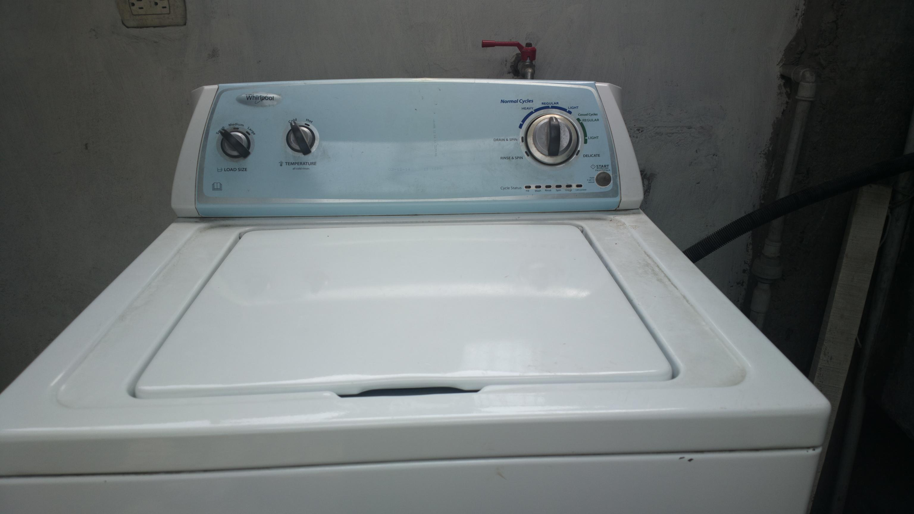 Como reparar una lavadora whirlpool solucionado nueva for Como reparar una lavadora