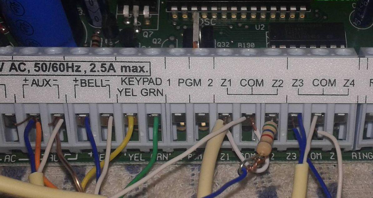 networx nx 4 alarm manual
