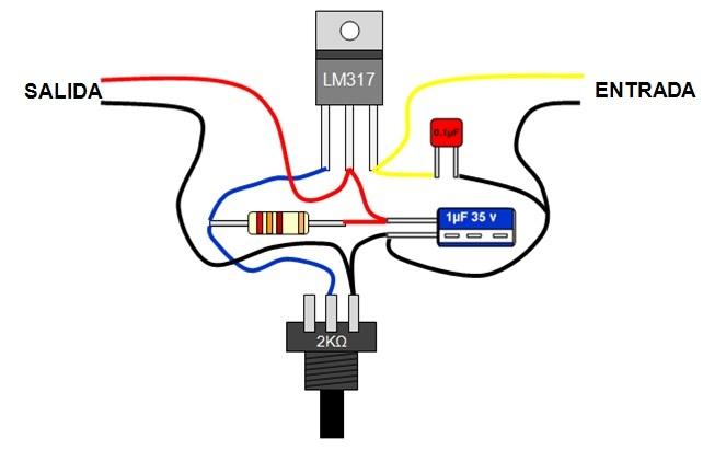 Circuito Regulador De Voltaje : Solucionado aguantaria un potenciometro de k a v