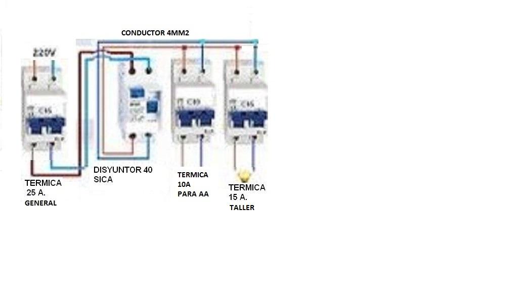 Solucionado instalacion electrica yoreparo for Como instalar una terma electrica