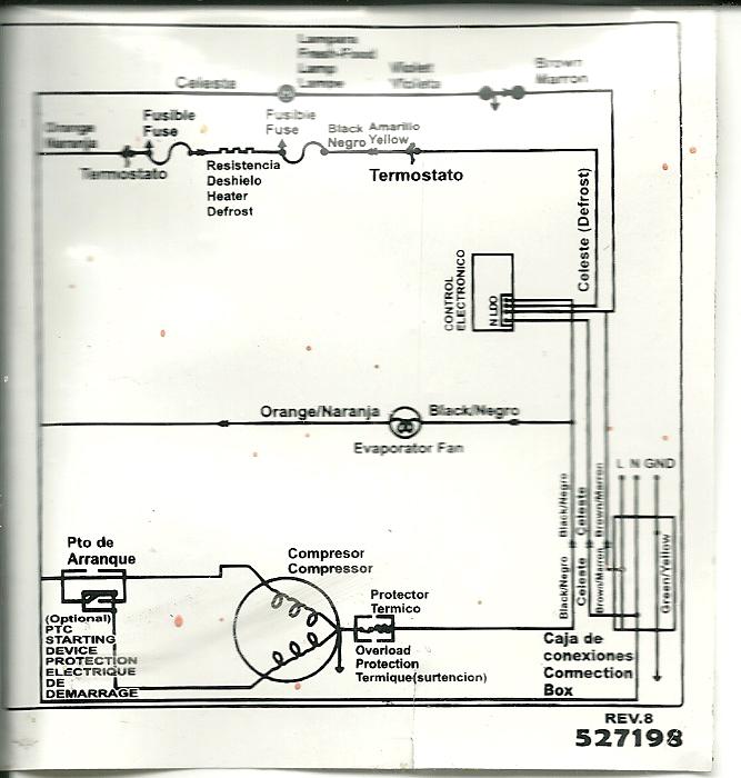 Circuito Electrico Heladera Comercial : Solucionado heladera patrick no frost modelo hpk