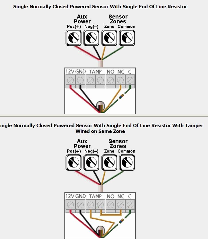 conectar lc-100pl a alarma 2b - alarmas