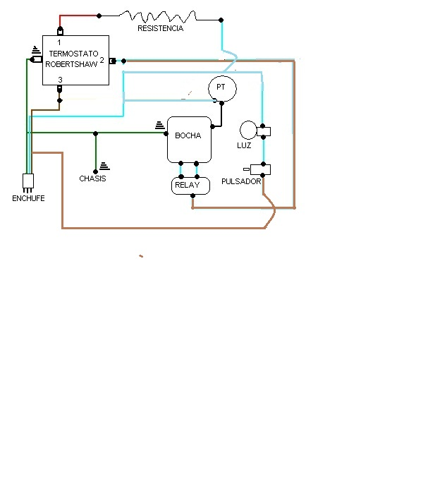 Circuito Electrico Heladera Comercial : Conexion de termostato heladera philco yoreparo