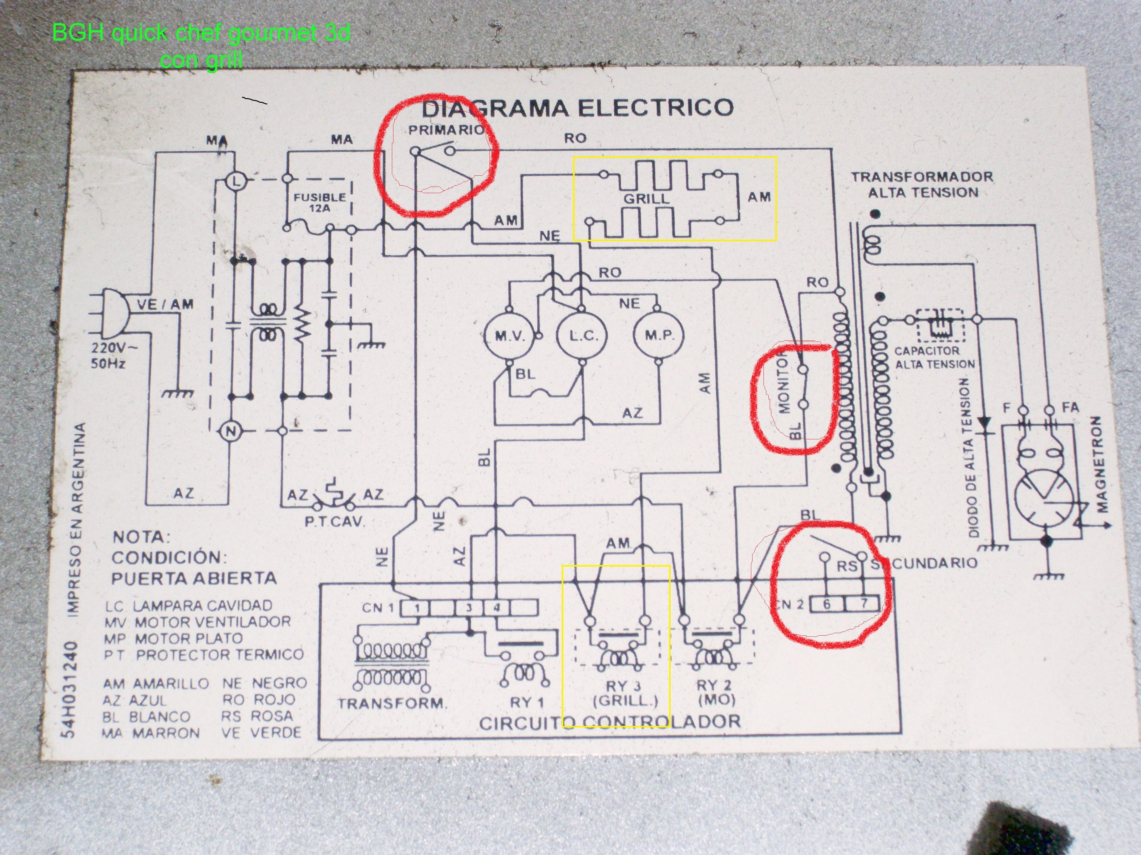 Funciona el microondas pero no calienta electrodomsticos for Grifo termostatico no calienta