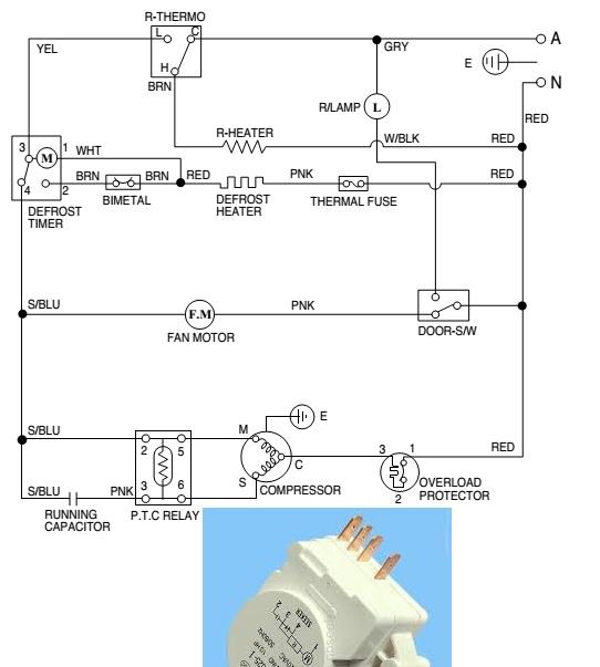 Circuito Electrico Heladera Comercial : Solucionado diagramas electricos de refrigeradoras yoreparo