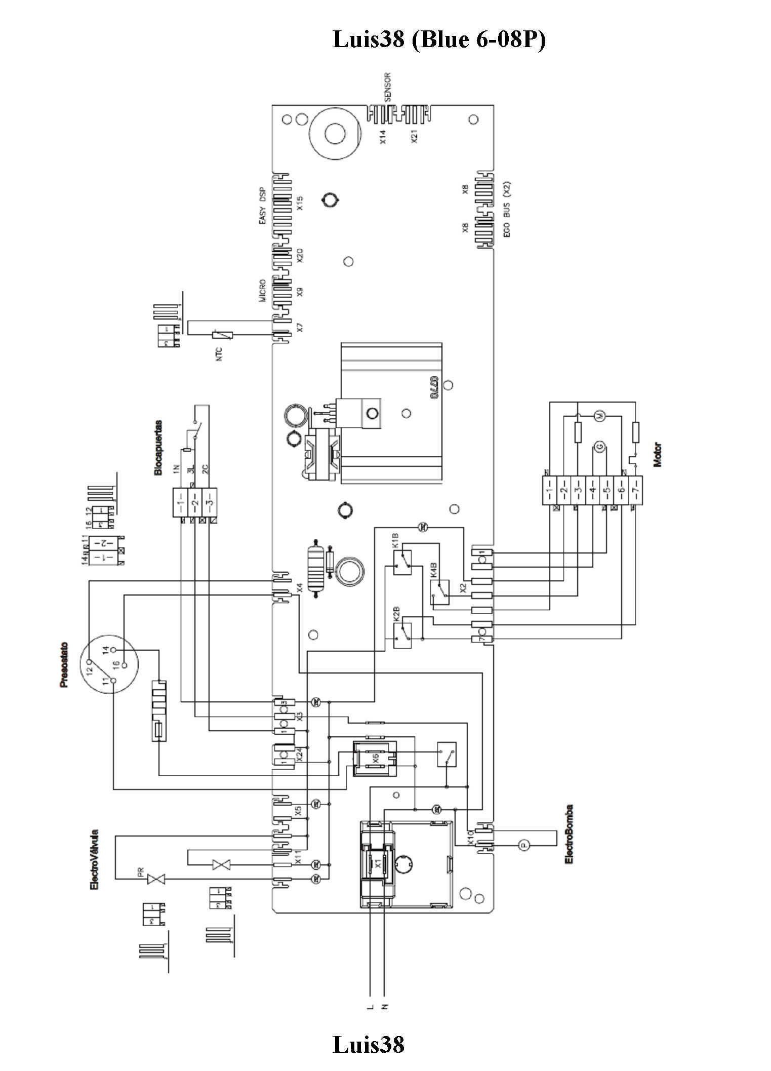 circuito electrico aurora6209