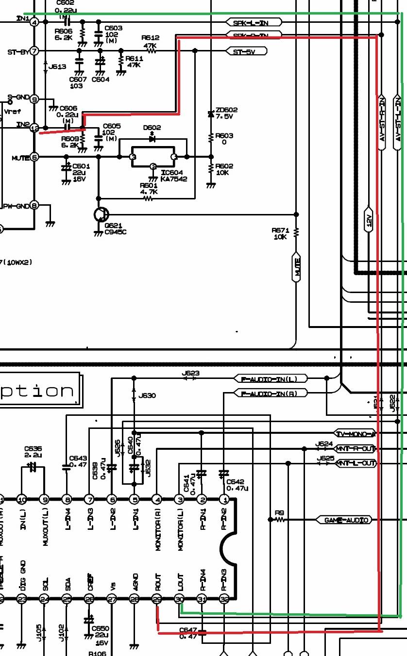 Solucionado  Lg Chasis Sc-023a Sin Audio Altda7297 Le Llegan 19 6 Voltios