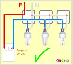 Instalaci n fotocontrol yoreparo - Hacer instalacion electrica domestica ...