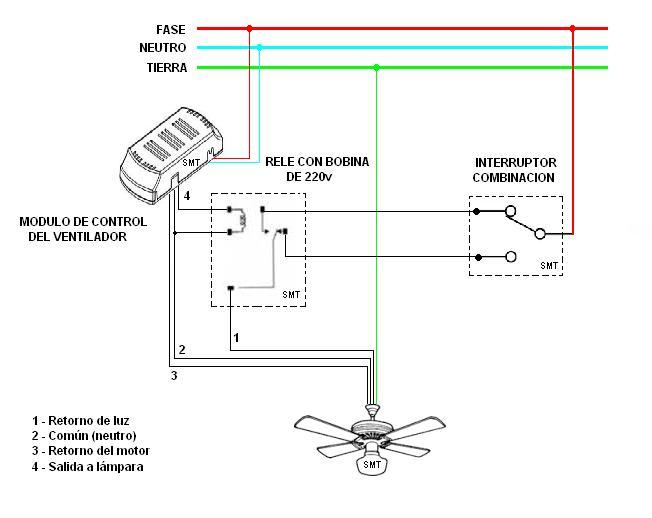 Instalacion ventilador de techo yoreparo - Instalacion de ventilador de techo ...