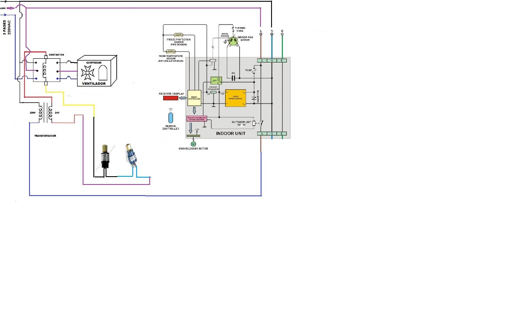 solucionado  diagrama de isntalcion de equipo fancoil