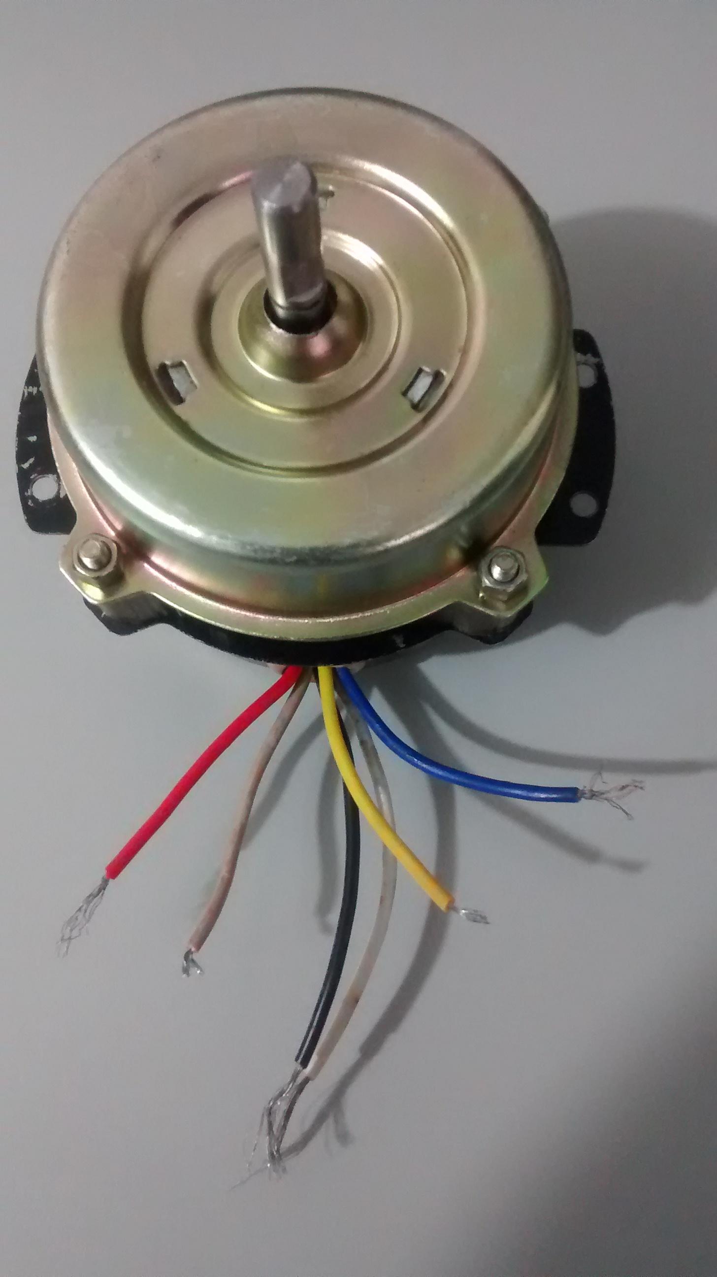 Pin yoreparo ventilador de techo instalar ventiladores on pinterest - Motores de ventiladores de techo ...