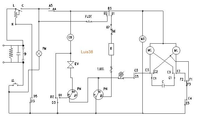 solucionado  cables de lavarropa patrick fagor lf5300