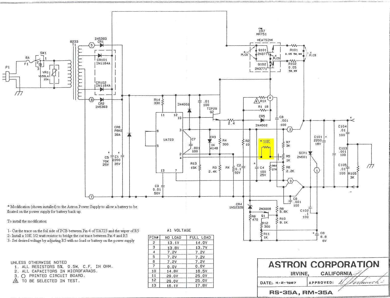 solucionado  problema fuente de poder de 13 8 volt modelo rs-35a - radiocomunicaciones