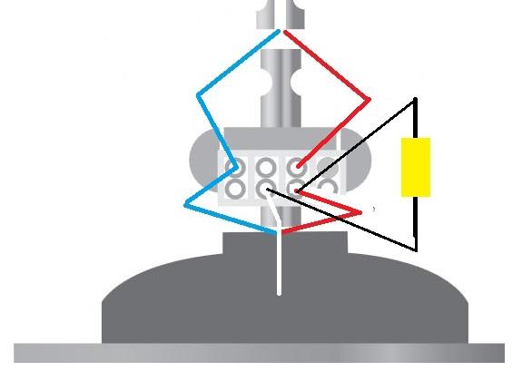Conexion capacitor ventilador techo - Motores de ventiladores de techo ...