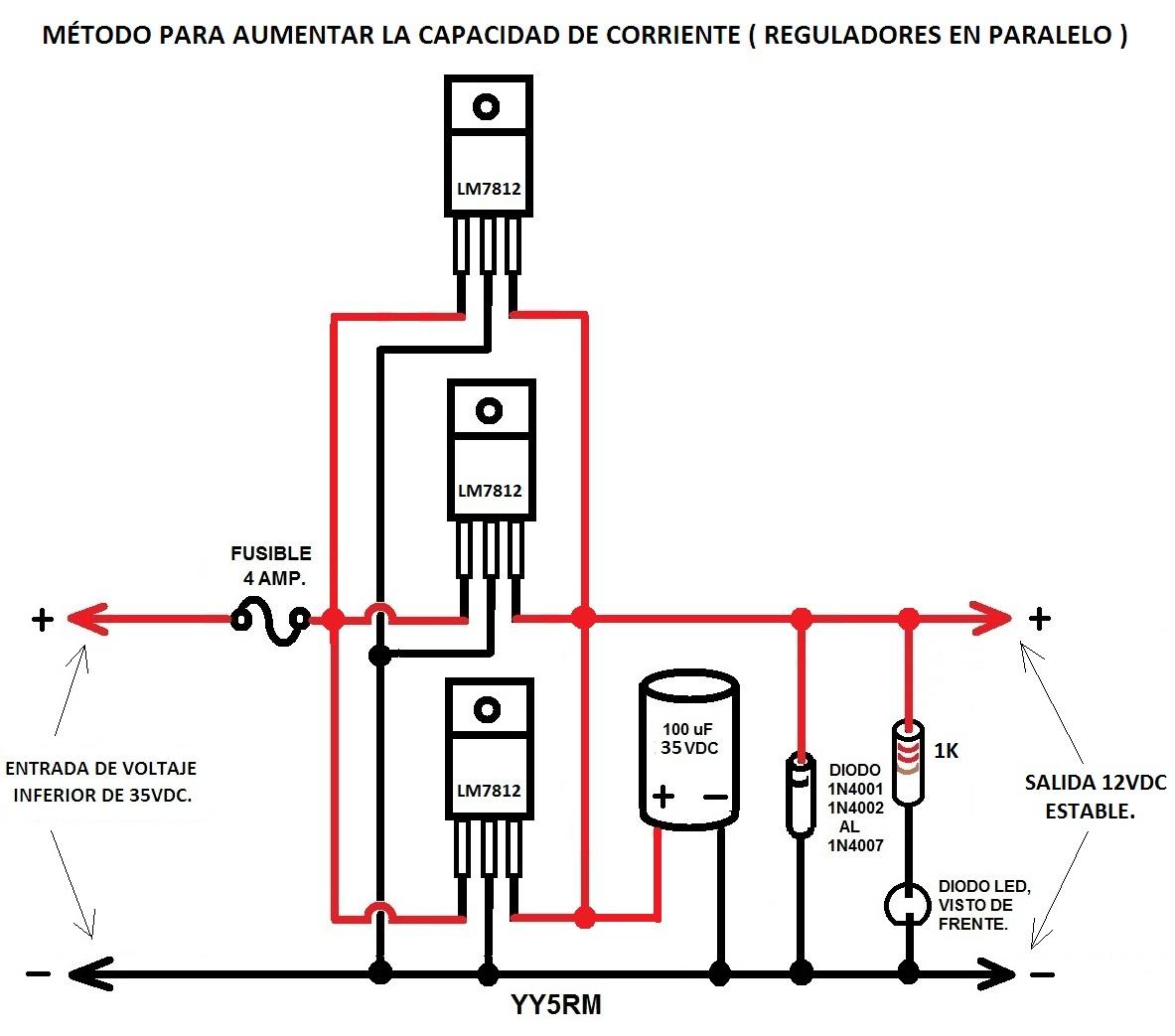 como conectar el regulador de voltaje del vocho
