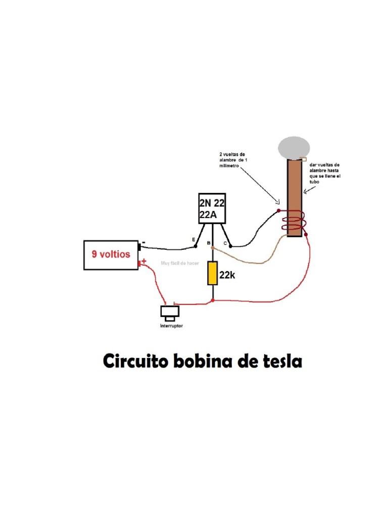 Circuito Bobina De Tesla : Solucionado ayuda con bobina de tesla yoreparo