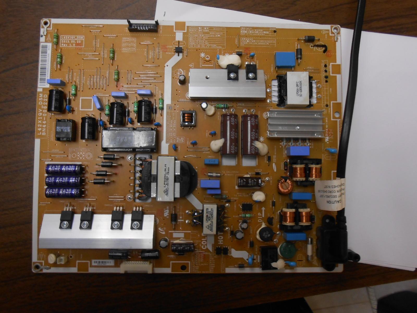 Reparar fuente de tv samsung best reparacin de tv lcd for Reparar pantalla televisor samsung