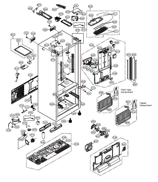 Lg Repair Diagram on whirlpool refrigerator wiring diagram