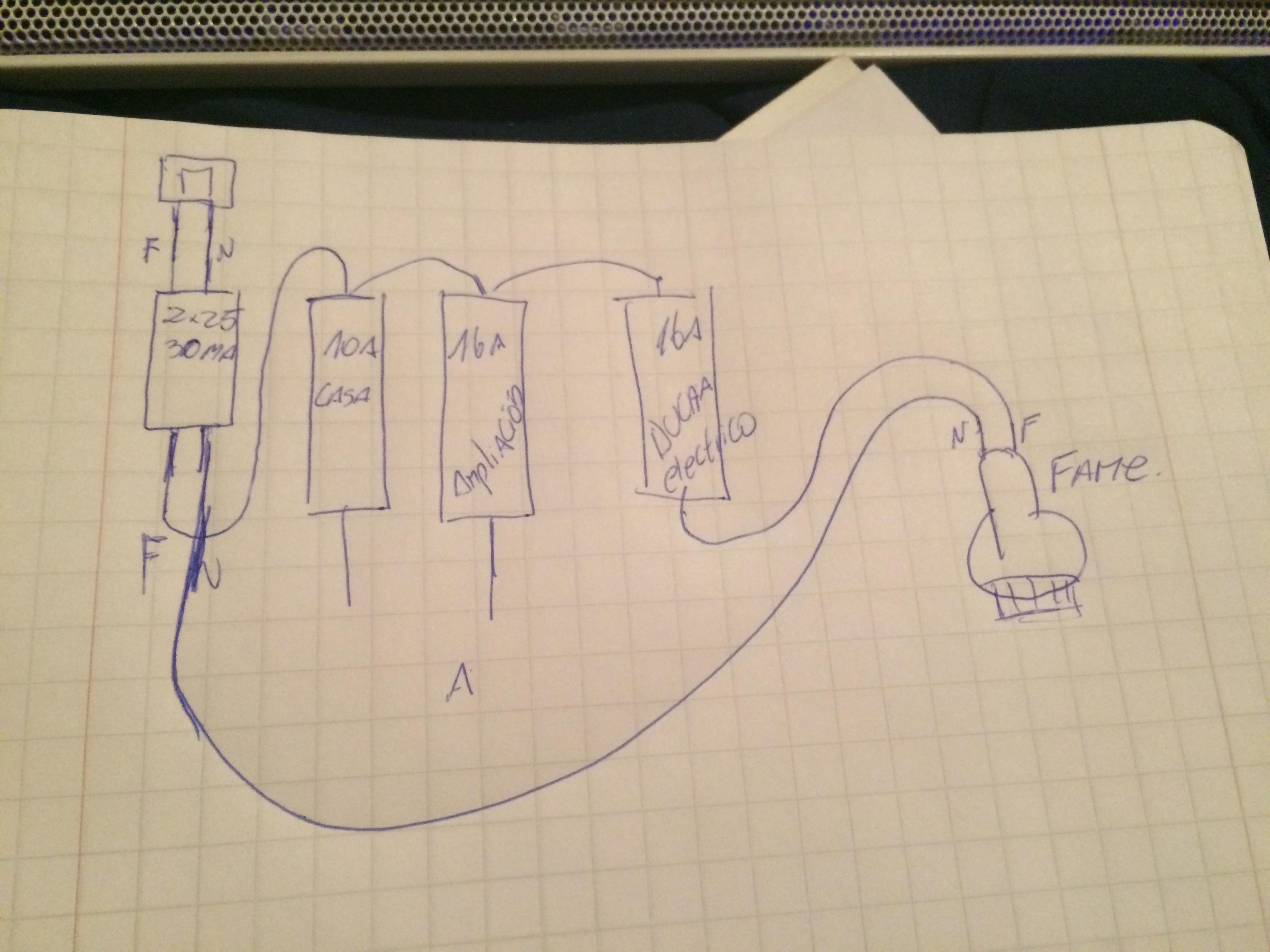 Instalar ducha el ctrica yoreparo for Como funciona una regadera electrica
