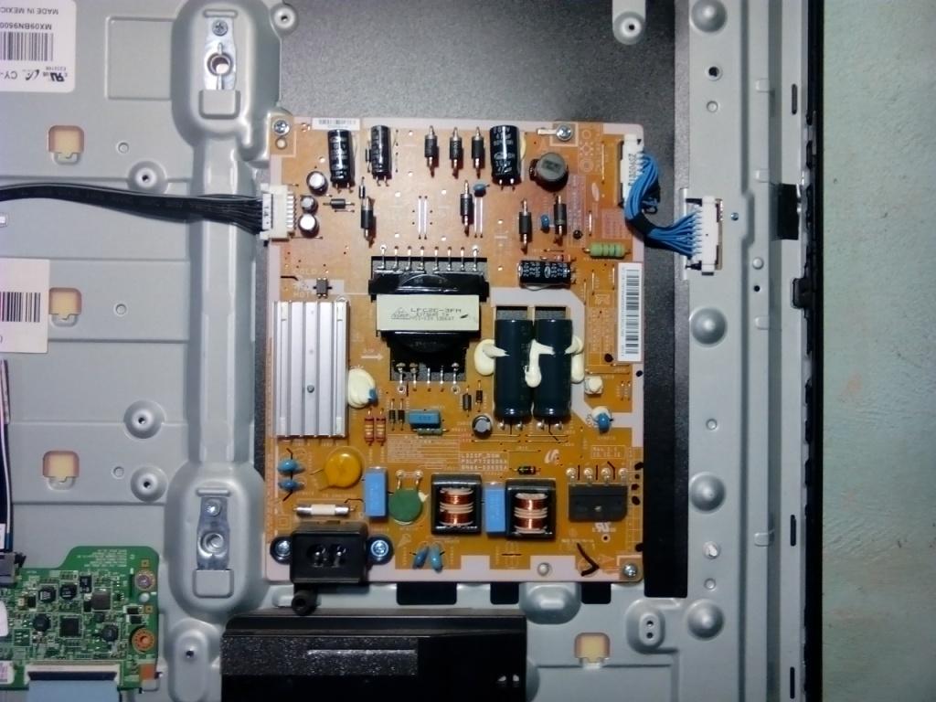 Solucionado tv led samsung sin brillo con sonido mod for Reparar pantalla televisor samsung