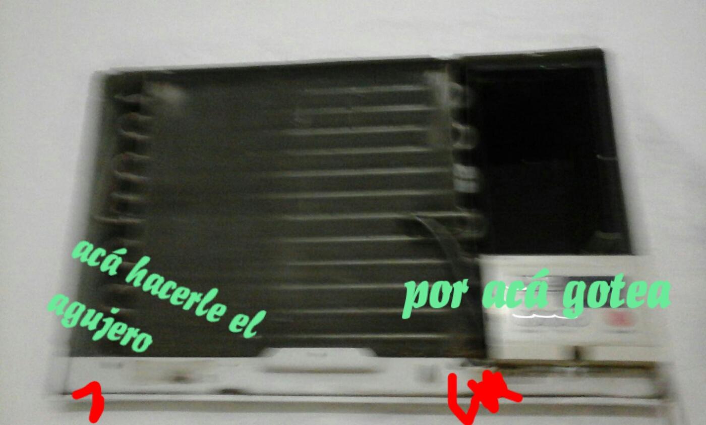 Aire Acondicionado Ventana Gotea Adentro Aire
