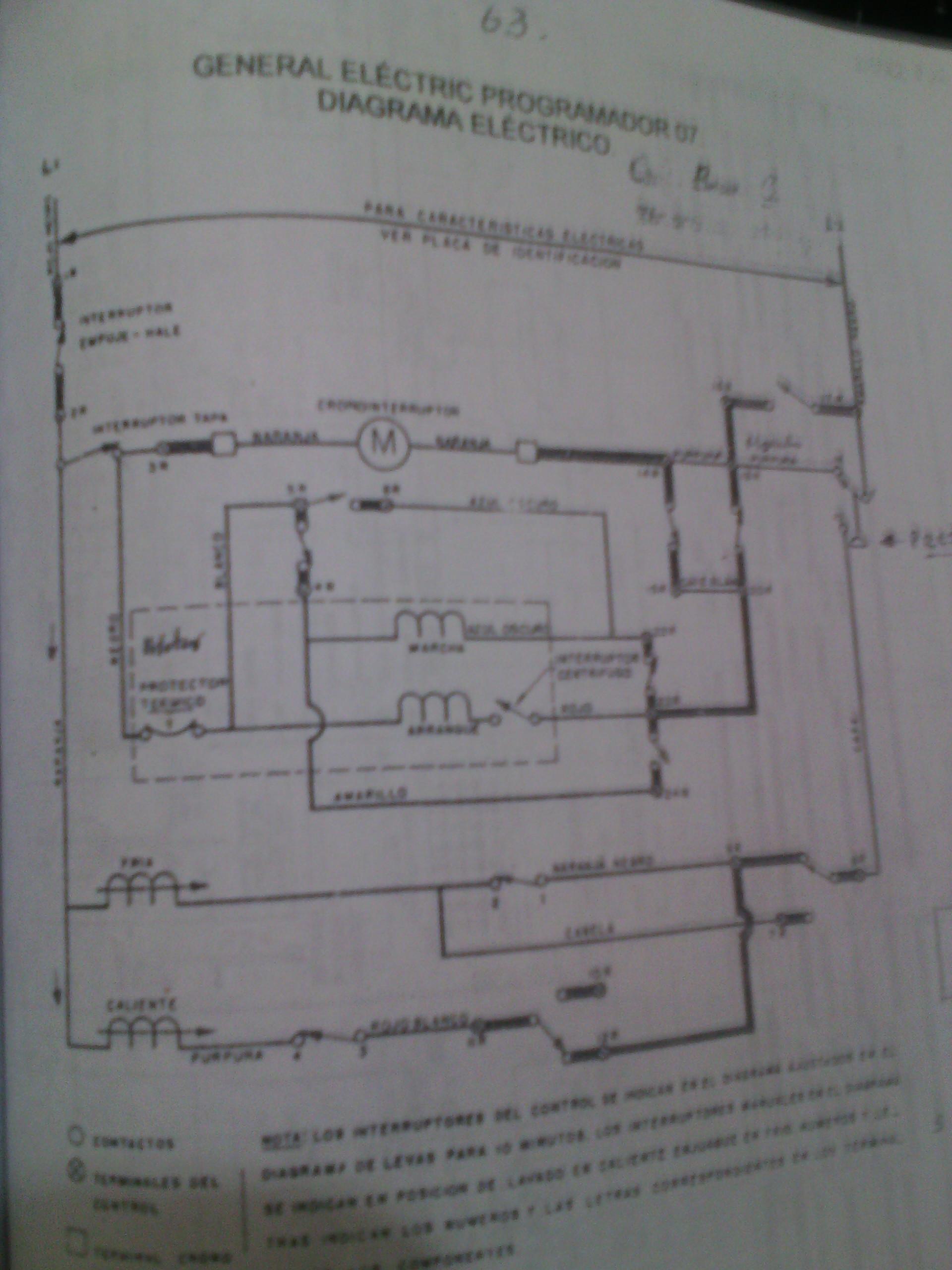 Circuito General : Circuito de lavadora general semi automatica yoreparo