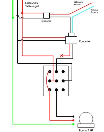 C mo conectar este interuptor para bomba de agua yoreparo for Llave de paso automatica