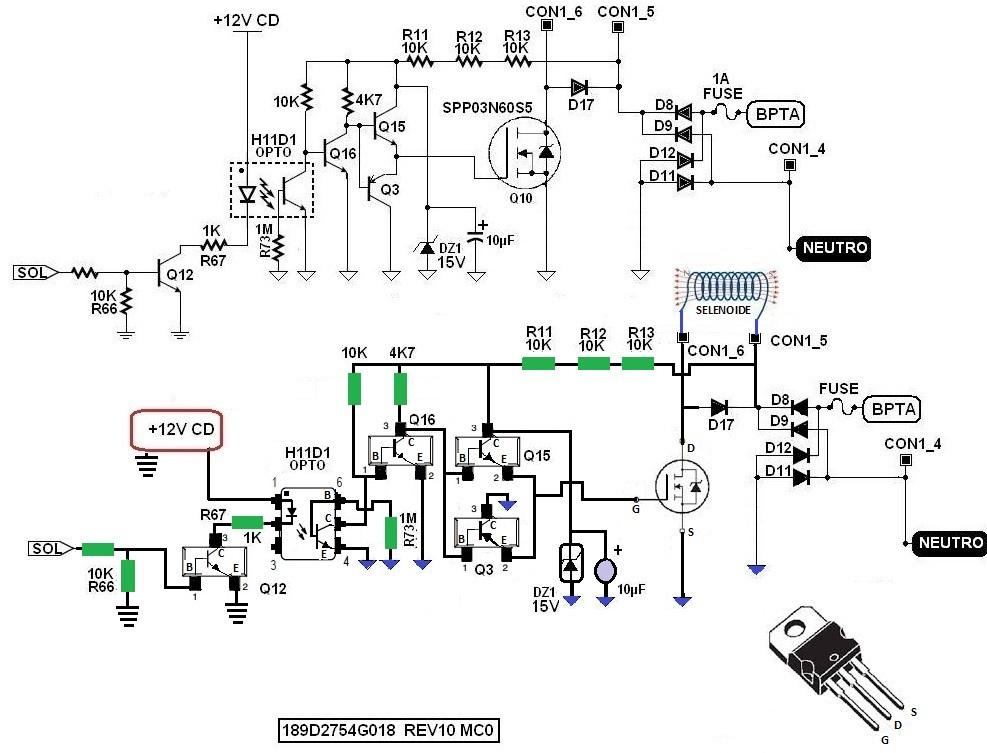 lavadora general electric falla de voltaje al solenoide - general electric