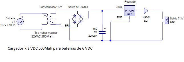 solucionado diagrama cargador bateria 6v 4amp electr nica y rh yoreparo com