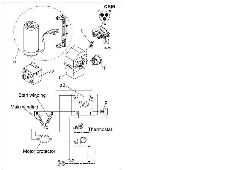 diagrama danfoss con un error - refrigeradores