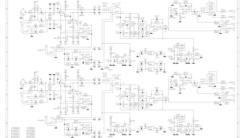 Teisco Guitar Amplifier Schematics