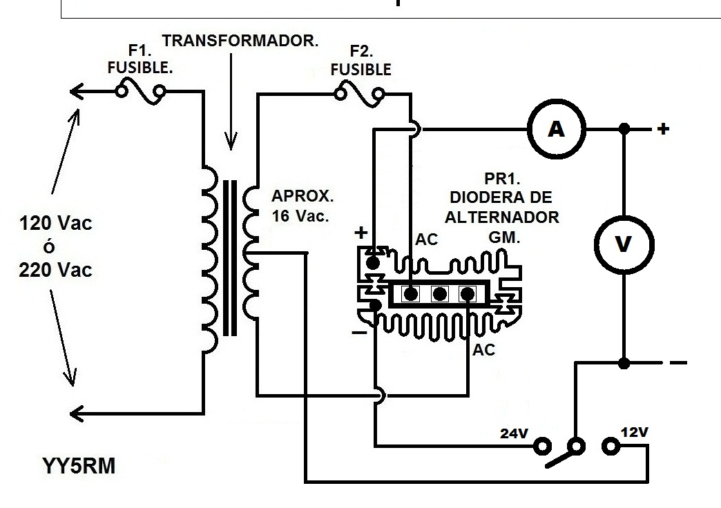 solucionado cargador de baterias 12 24 voltios electr nica y rh yoreparo com