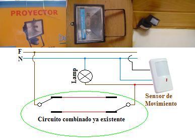 Solucionado Como Conectar 2 Sensores De Movimiento En Combinacion