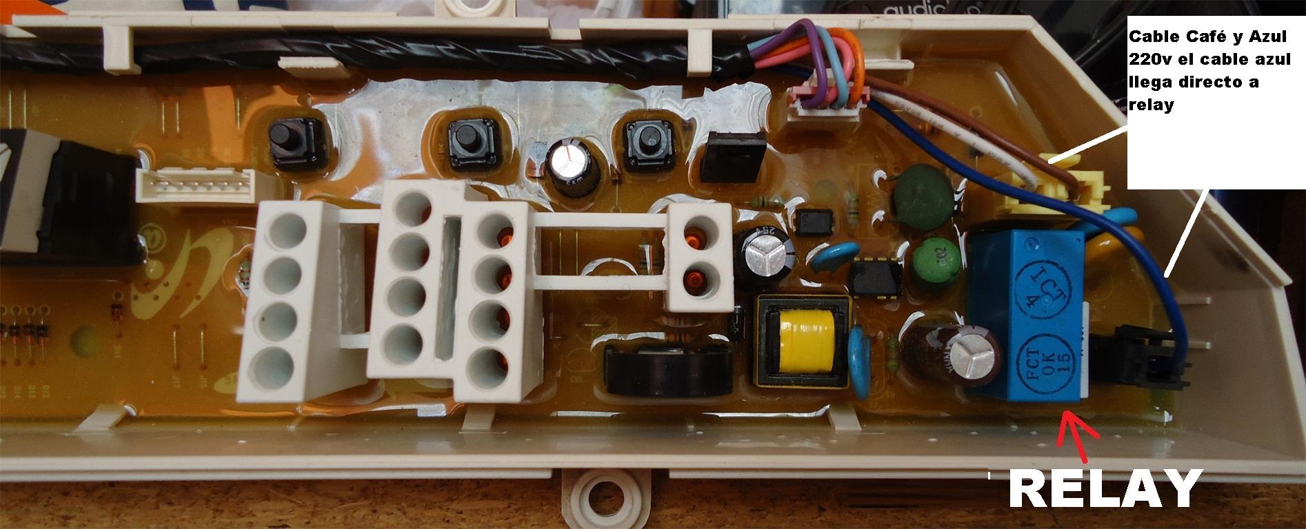 Solucionado panel lavadora samsung wa95q3 no enciende lavadoras